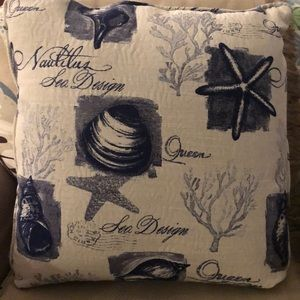 Other - Two Brand New Nautical design throw pillows.